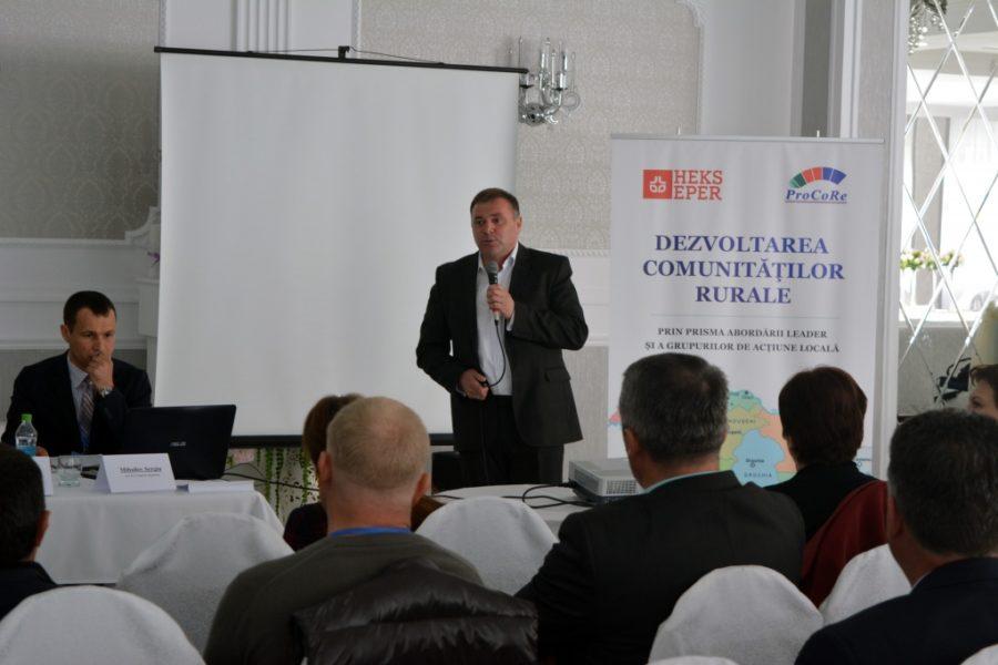"""(Română) Conferință de lansare a proiectului: """"Dezvoltarea comunităților rurale prin prisma abordării LEADER și a Grupurilor de Acțiune Locală"""""""