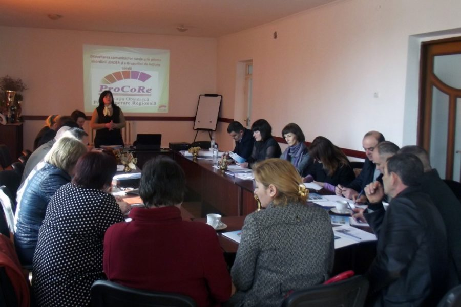 First steps towards the creation of Local Action Groups