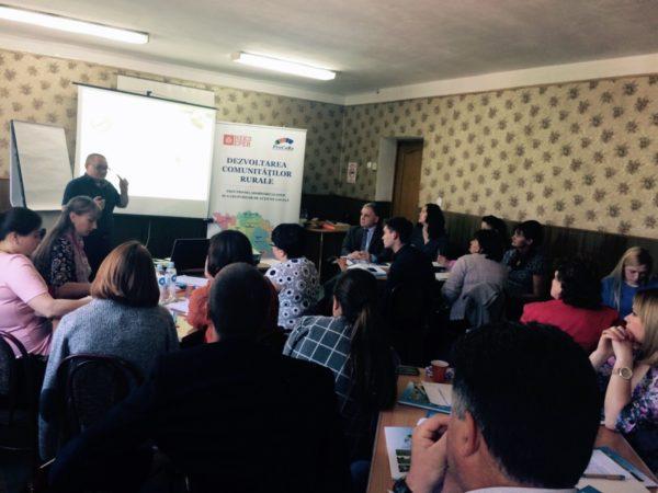 Seminar de formare a capacităţilor pentru ONG-uri din Nordul Moldovei