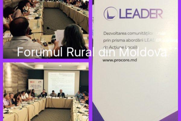 """(Română) Lansarea rețelei """"Forumul Rural din Moldova"""""""