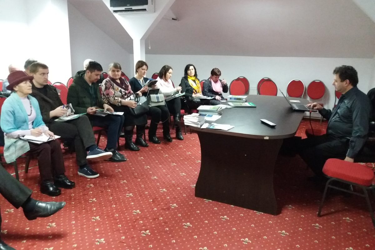 Vizită de studiu în România, 28-30 martie 2018