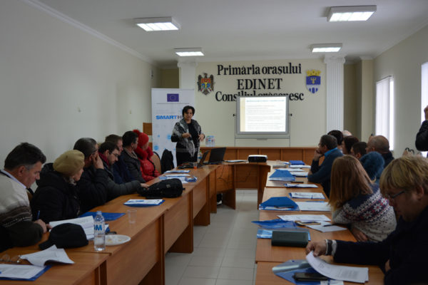 Antreprenorii din raionul Edineț informați despre sursele de finanțare