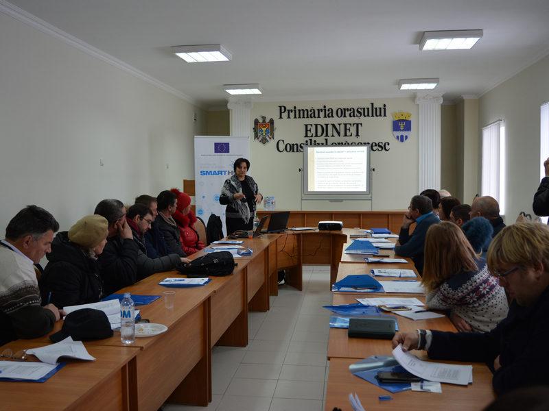 (Română) Antreprenorii din raionul Edineț informați despre sursele de finanțare