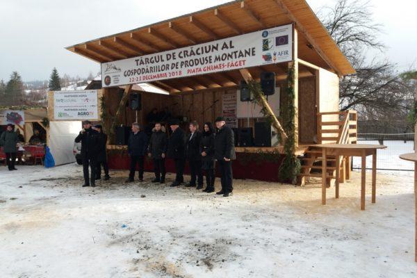 Vizită de studiu la Tîrgul de Crăciun de la Ghimeș-Făget,  județul Bacău, România