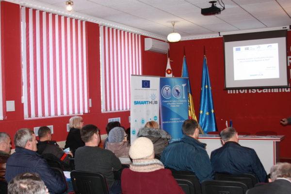 Antreprenorii din raionul Rîșcani informați despre sursele de finanțare
