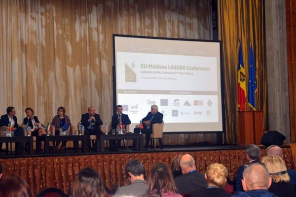 (Română) Conferința EU-Moldova LEADER