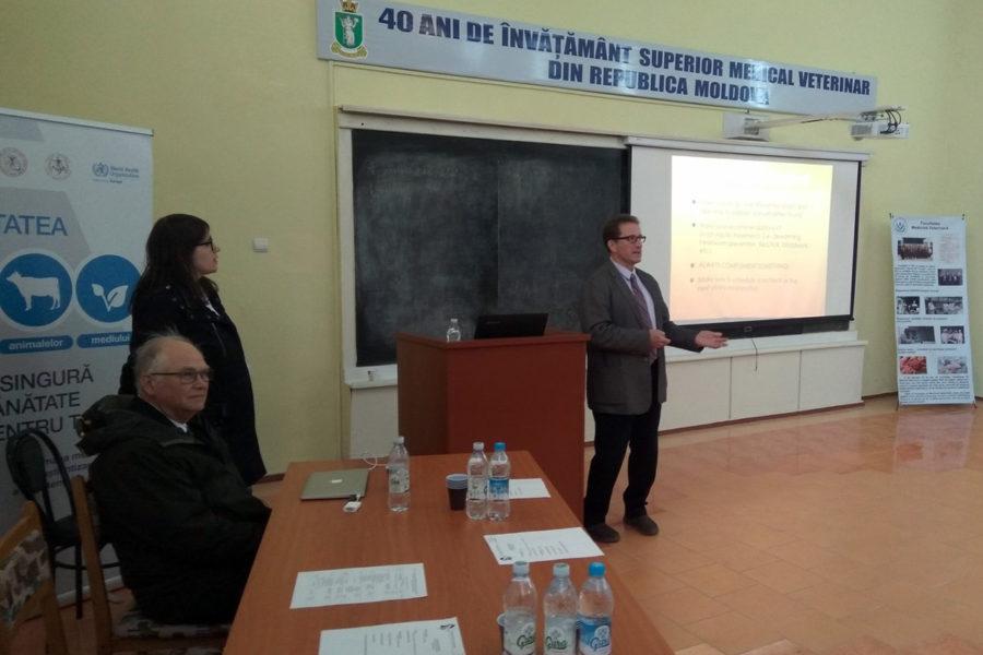 (Română) O nouă conferință științifico-practică pentru medicii veterinari.