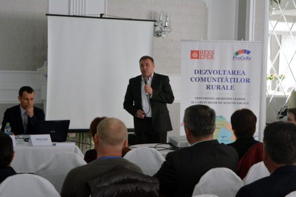 """Conferință de lansare a proiectului: """"Dezvoltarea comunităților rurale prin prisma abordării LEADER și a Grupurilor de Acțiune Locală"""""""