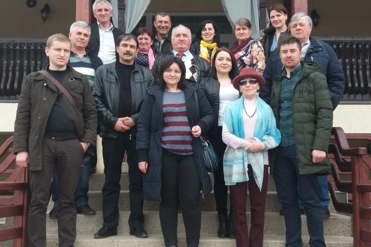 (Română) Vizită de studiu în România, 28-30 martie 2018