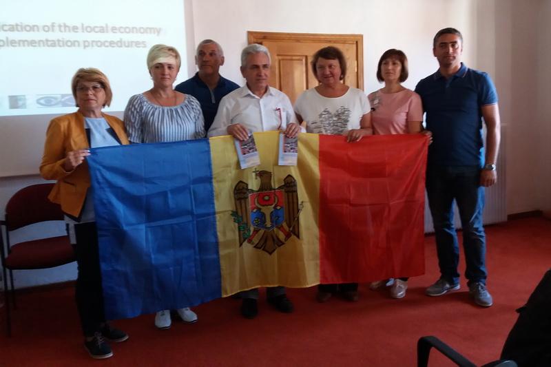 (Română) Transfer de cunoștințe în implementarea Programului LEADER   din Grecia pentru reprezentanții GAL din Republica Moldova