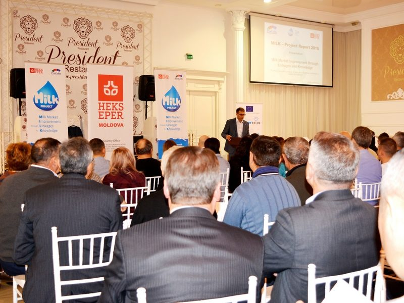 """(Română) La Bălți a avut loc a II-a ediție a conferinței dedicate rezultatelor proiectului """"MILK"""""""