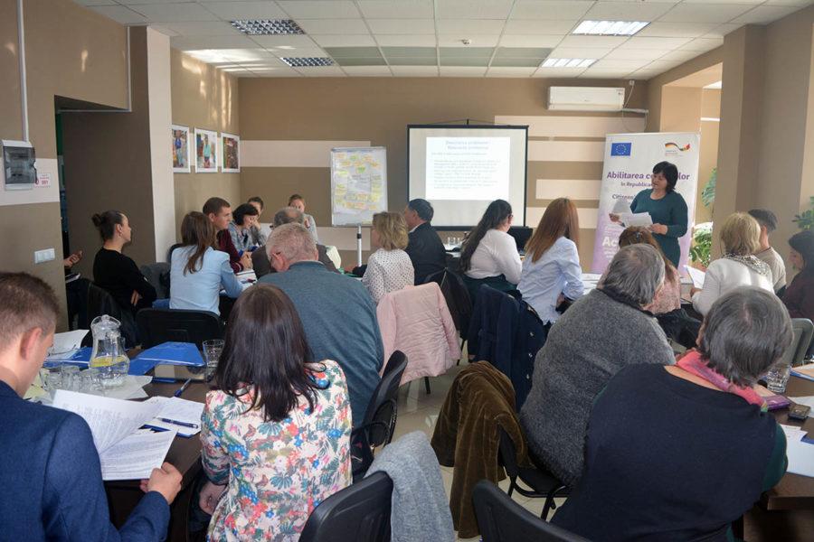 """UE-GIZ // La Bălți a avut loc prima parte seminarului de instruire """"Scrierea cererii de finanțare și managementul proiectelor"""""""