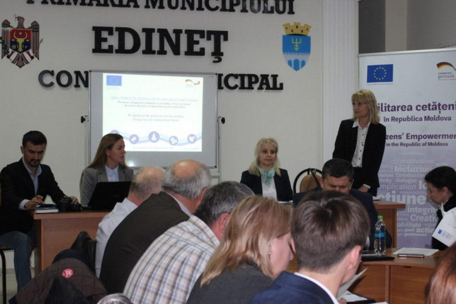 UE-GIZ // Programul de Granturi Locale pentru organizațiile societății civile din Regiunea de Dezvoltare Nord a Republicii Moldova
