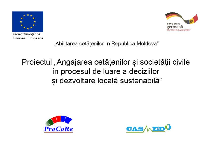 UE-GIZ // ANUNȚ Suport informațional, instruire și consultanță privind crearea și consolidarea Rețelei Regionale a Organizațiilor Societății Civile din Regiunea de Dezvoltare Nord a Republicii Moldova