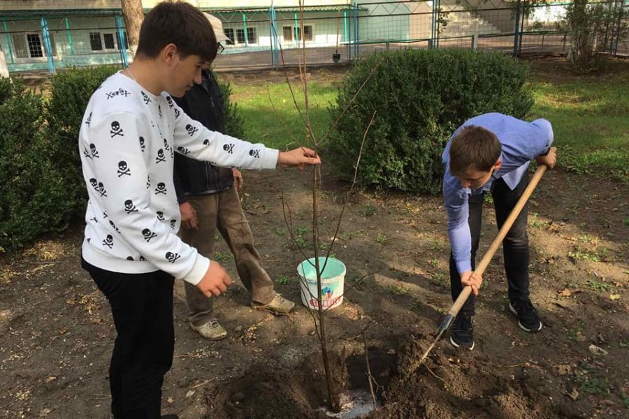 (Română) Caravana de plantare a faptelor bune – or. Florești
