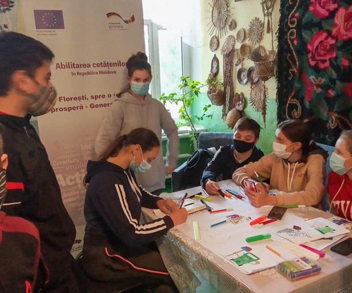 """Concurs de postere ,,Oferă-te voluntar ECO – Schimbă ceva!"""" – Gimnaziul Mărculești"""