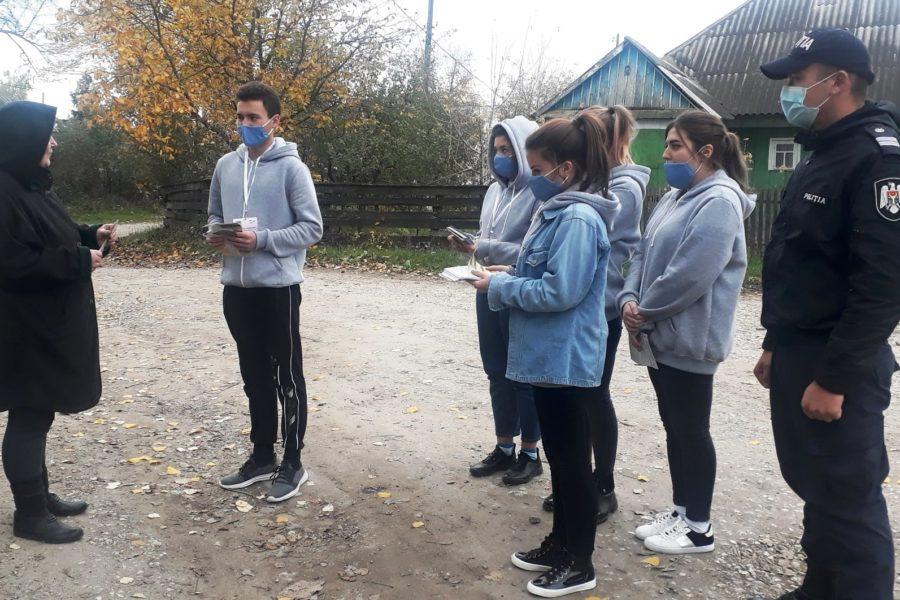 """""""Să gestionăm rațional resturile vegetale! """", este îndemnul tinerilor din municipiul Edineț"""