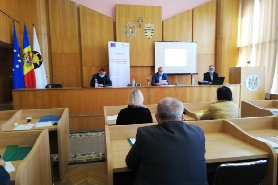 """(Română) Conferința de lansare a proiectului """"Un mediu mai curat și mai sănătos pentru cetățenii din localitățile Iabloana, Hîjdieni și Cajba"""""""
