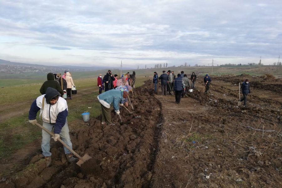 Participarea activă a cetățenilor din satul Cajba în gospodărirea eficientă a deșeurilor solide.