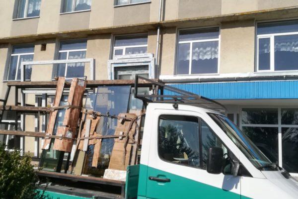 Ultima fereastră a fost instalată – AO Colaborare