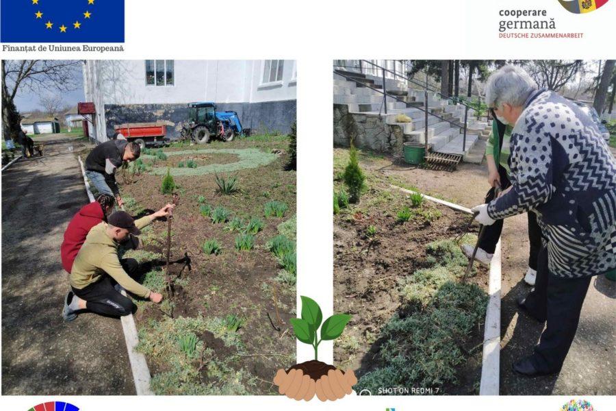 """Campania """"Verde plai!"""" în curtea Gimnaziului Crișcăuți – AO Anima"""