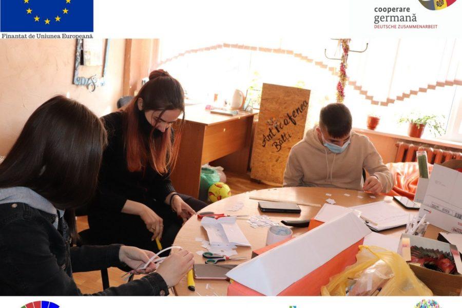 """Atelierul de lucru pentru partea Expo L. T. """"L. Blaga"""" – AO Anima"""
