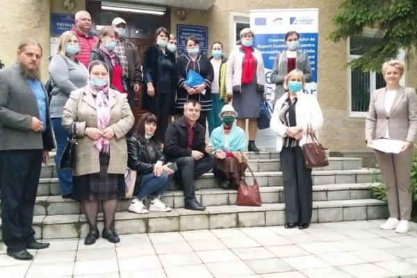 (Română) Reprezentanții societății civile din Regiunea de Nord învață din experiența comunităților dezvoltate.