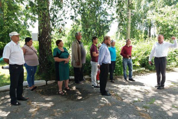 Ședință comună de lucru în satul Corpaci r-l Edineț